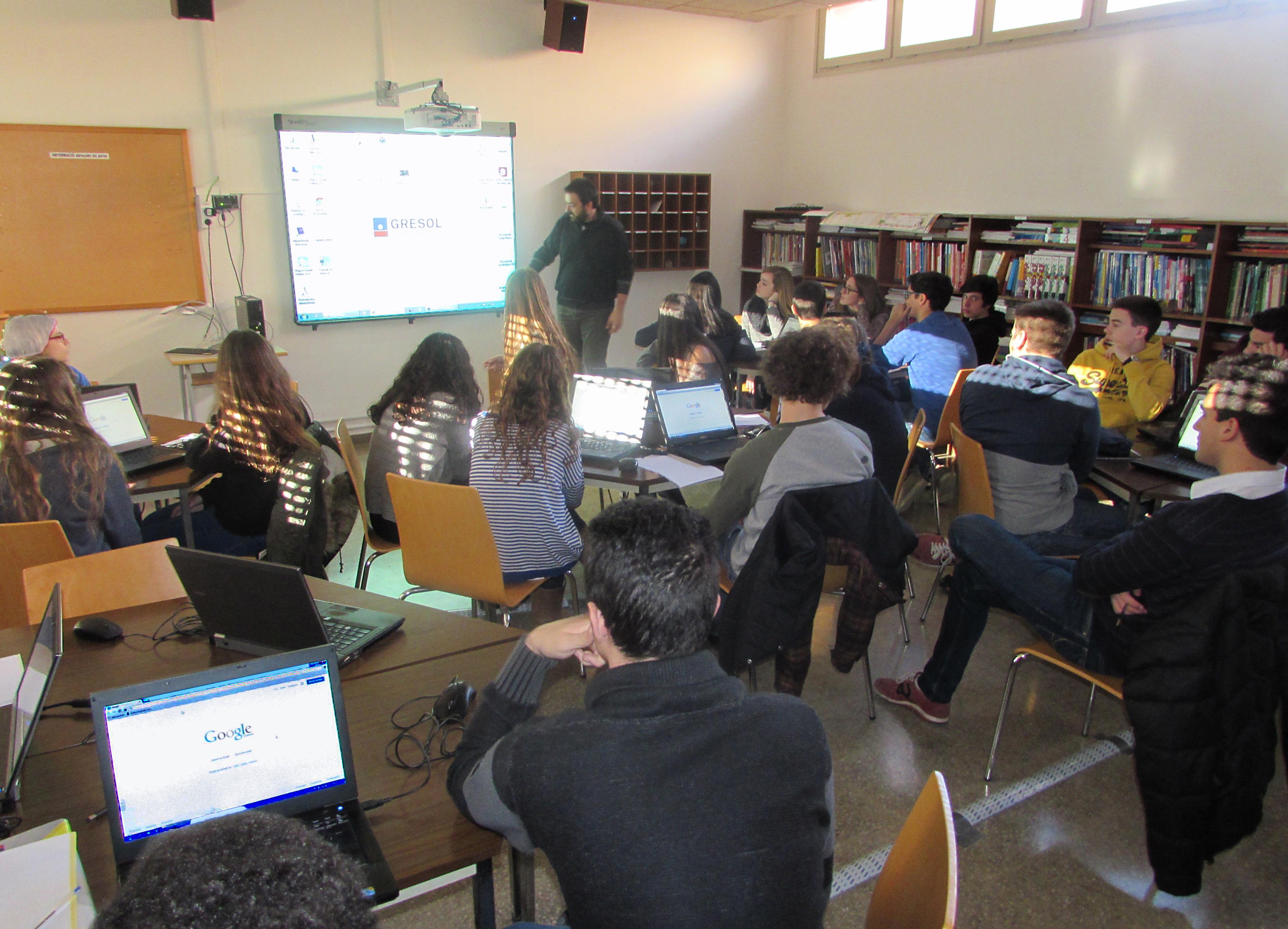 Visita Centre Estudis Gresol