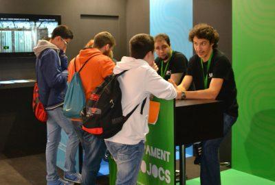 Divertidas actividades en videojuegos y multimedia para el Saló de l'Ensenyament 2016