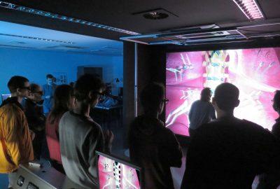 Alumnos del CITM visitan el Centro de Realidad Virtual de Barcelona