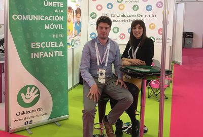El graduat en Multimèdia Sergi Juárez crea l'app educativa Childcare On