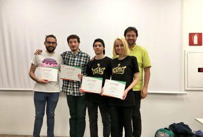Els estudiants del CITM, en segona posició a la hackaton [Not Only Games] de King
