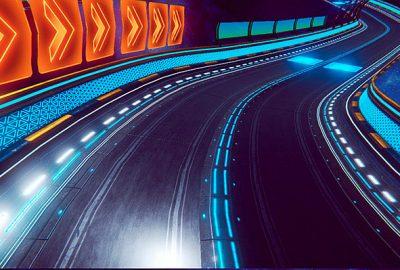 Una carrera de motos en realitat virtual, la proposta del CITM per al Saló de l'Ensenyament