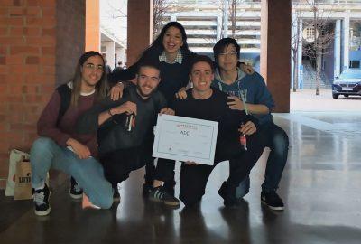 Pablo Soler, estudiant del CITM, un dels guanyadors de la Hackaton Mobility Barcelona