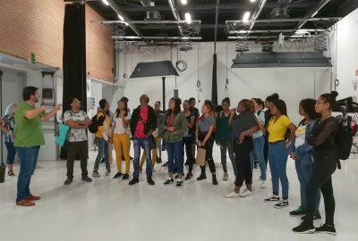 Alumnes d'una escola d'Arts Aplicades de l'Illa Martinica visiten el CITM