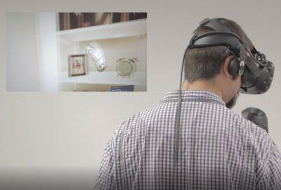 El TFG del graduat Daniel Triviño, una potent eina de RV per conscienciar sobre la salut visual